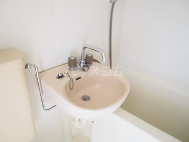 アミューズメントⅢ 101号室の洗面所