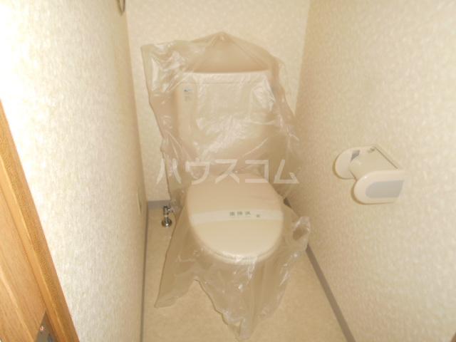 藤ロイヤル 411号室のトイレ