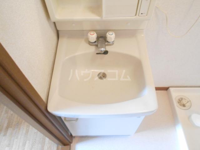 ヴィラネル東姫宮A 201号室の洗面所