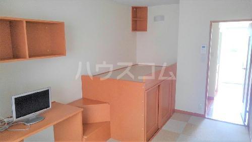 レオパレスレスポワール 206号室のベッドルーム