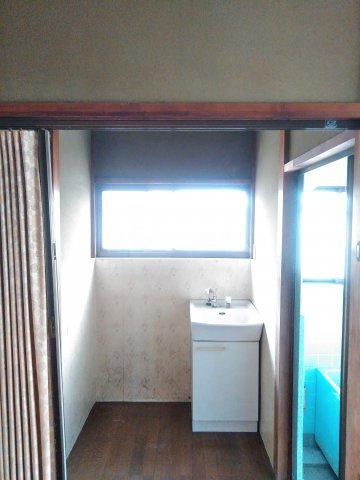 貸家D(宮代町本田)の洗面所