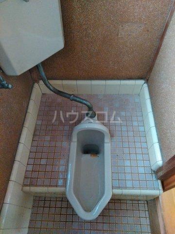 貸家D(宮代町本田)のトイレ