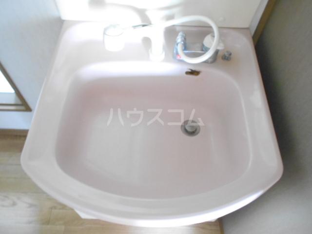 サンハイム B 202号室の洗面所