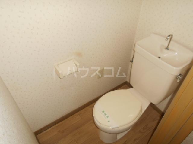 サンハイム B 202号室のトイレ