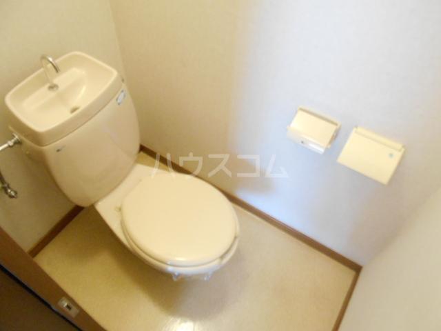 ヴィラネル東姫宮B 201号室のトイレ