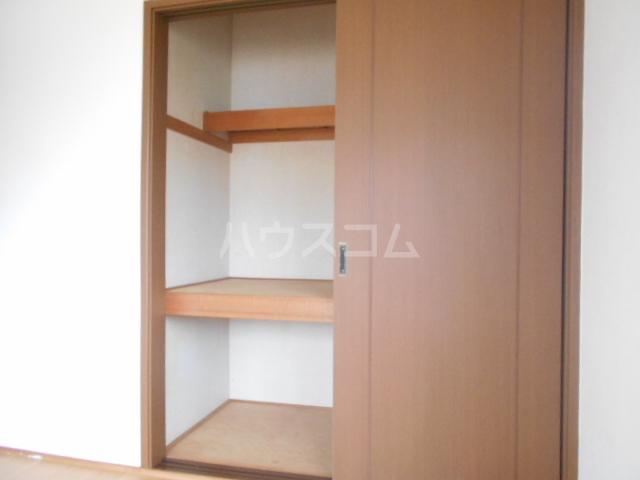 ヴィラネル東姫宮B 201号室の収納