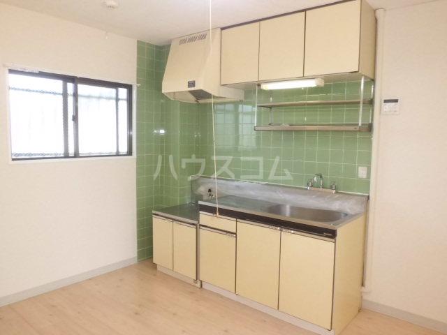 グランドハイム秋元 301号室のキッチン