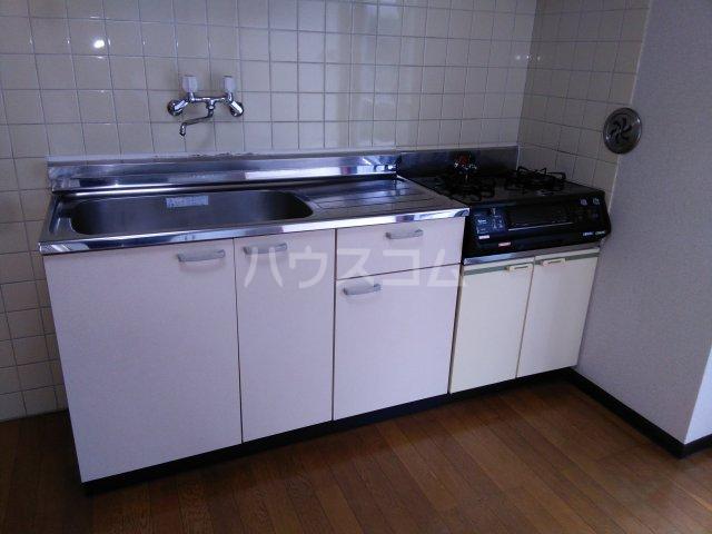 ハイツスプリング 102号室のキッチン