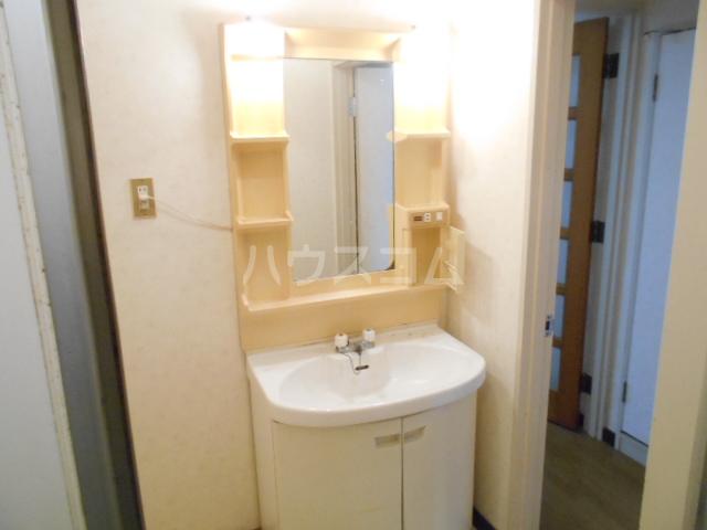 メゾンサンパーク 105号室の洗面所