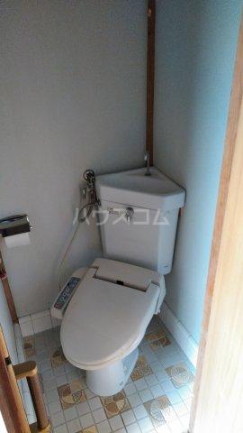 リバー橋本 1号室のトイレ