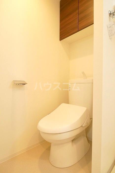 ラフィスタ新小岩Ⅱ 702号室のトイレ