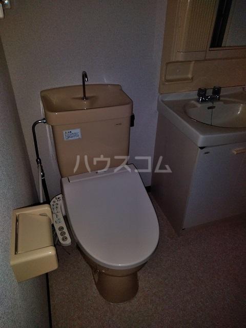 北越谷MKハウス 106号室のトイレ