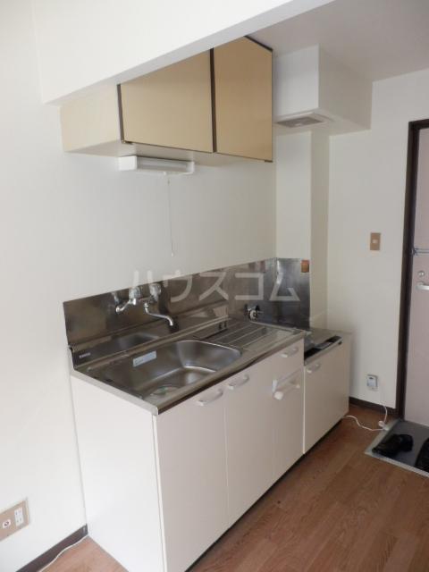 ラサール青柳 102号室のキッチン