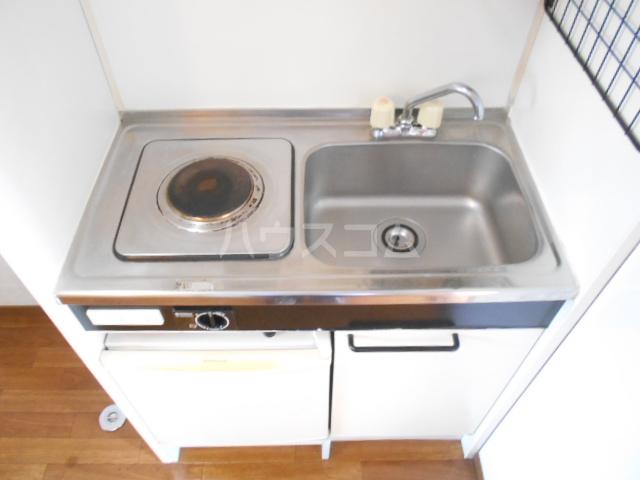 ハイツ福田 202号室のキッチン