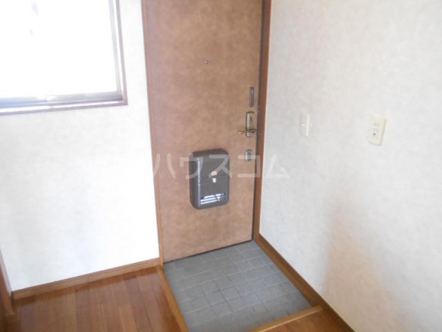 ハイツ福田 202号室の玄関