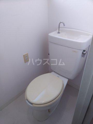 オレンジハウス森田弐番館 203号室のトイレ