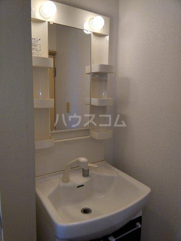 オレンジハウス森田弐番館 203号室の洗面所