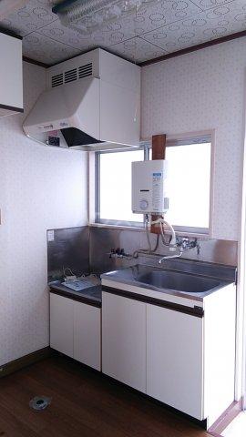 三井ハイツ 205号室のキッチン