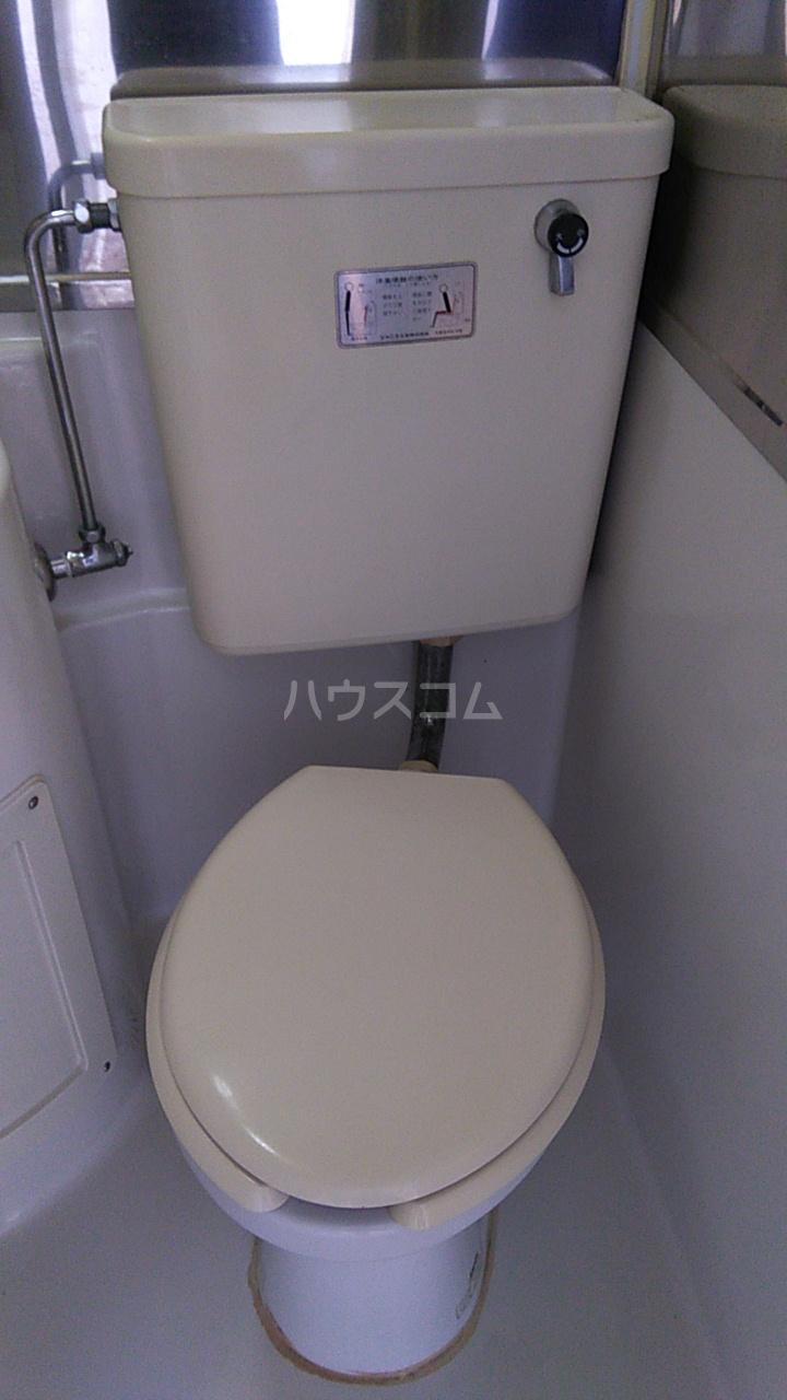 三井ハイツ 205号室のトイレ