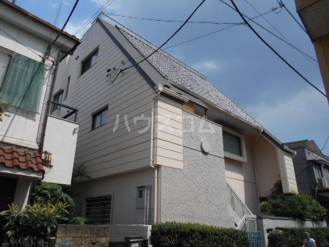 上野桜木貸家の外観