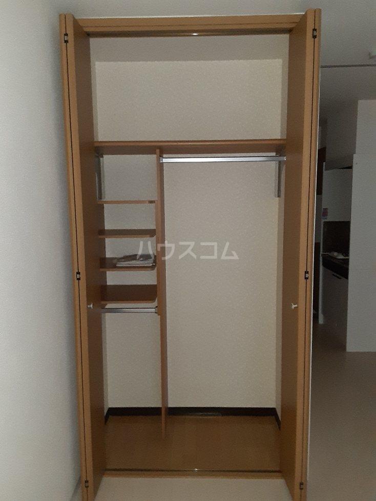 アルバティアラ 302号室の収納