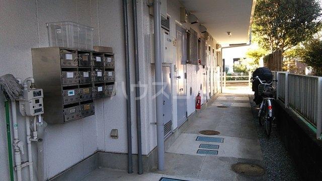 メゾン湘南 102号室のバルコニー