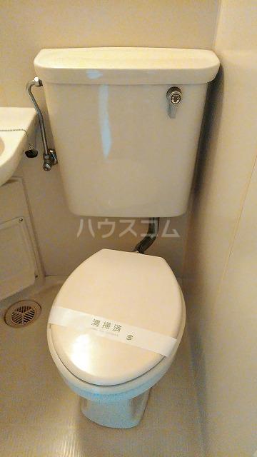 トップ五反野第1 308号室のトイレ