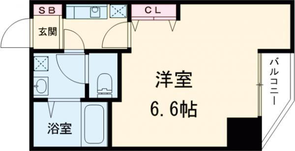 金太郎ヒルズ243松が谷・401号室の間取り