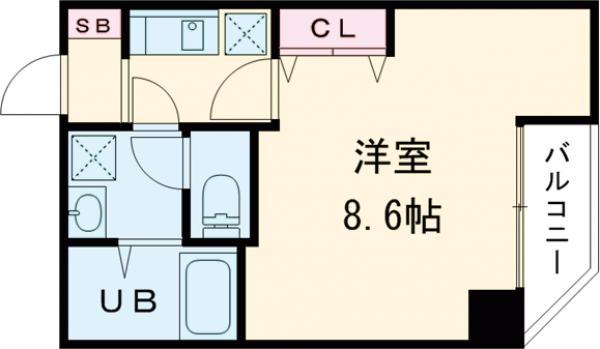 金太郎ヒルズ243松が谷・501号室の間取り