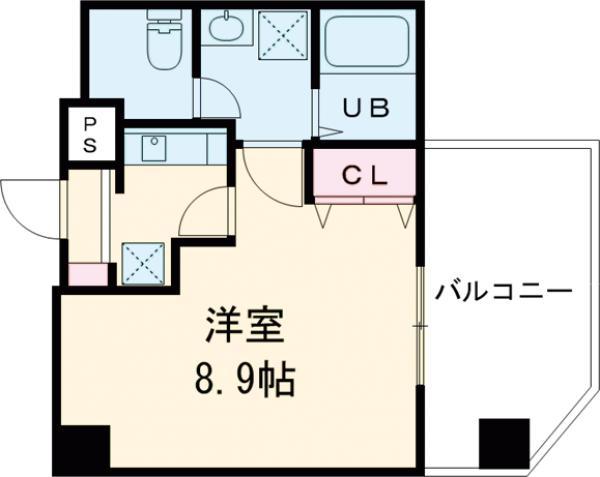 金太郎ヒルズ243松が谷・701号室の間取り