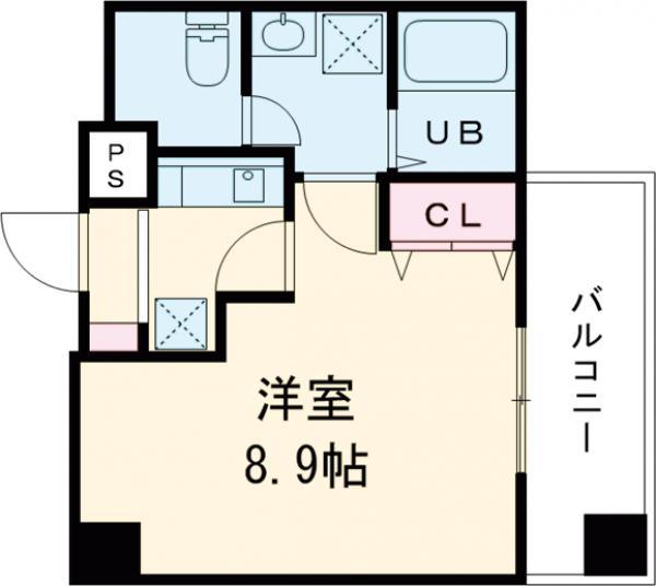 金太郎ヒルズ243松が谷・801号室の間取り