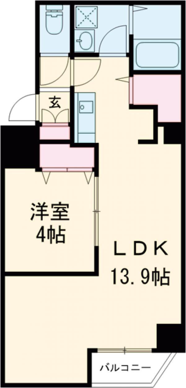 金太郎ヒルズ243松が谷・202号室の間取り