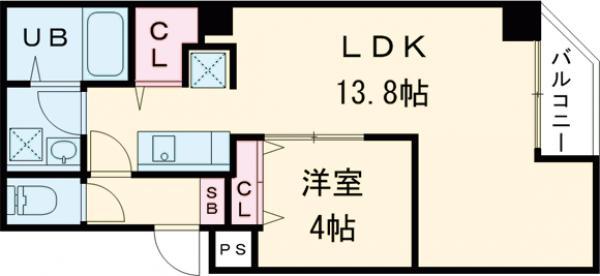 金太郎ヒルズ243松が谷・402号室の間取り