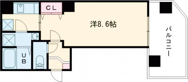 金太郎ヒルズ243松が谷・702号室の間取り