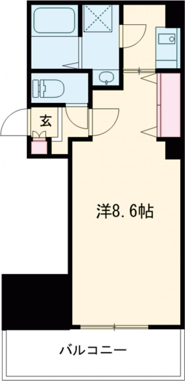 金太郎ヒルズ243松が谷・802号室の間取り