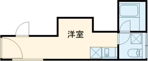 KOSTIC MINOWA・301号室の間取り