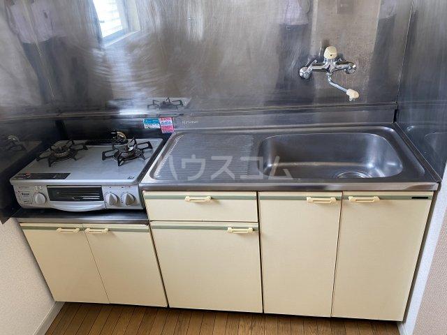 セフィーロ深大寺 205号室のキッチン