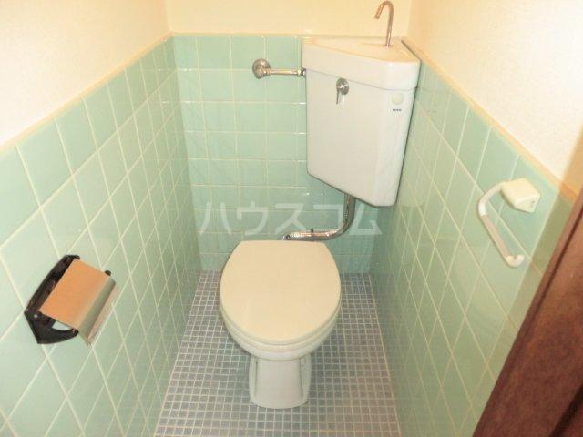 コーポ青藍 2F-1号室のトイレ
