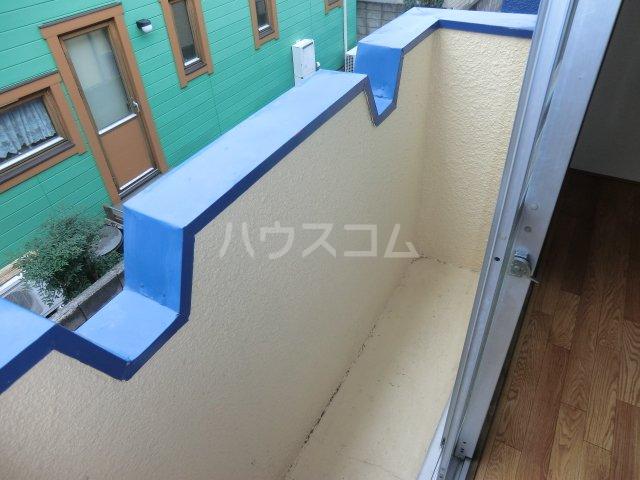 コーポ青藍 2F-1号室のバルコニー