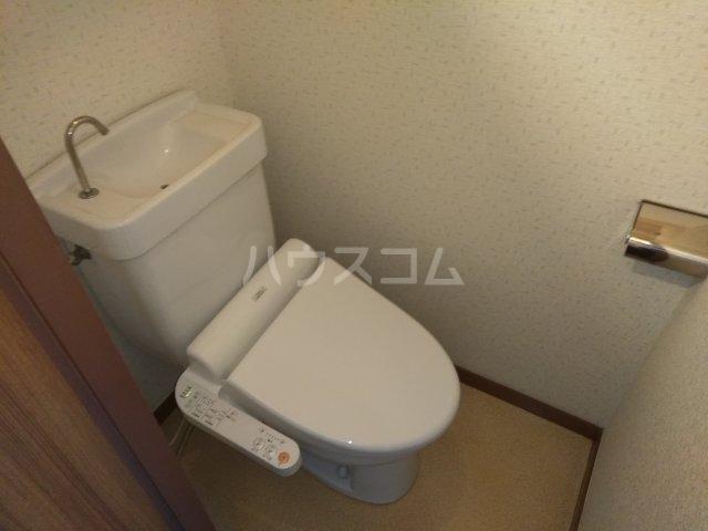 コーポ由利 102号室のトイレ