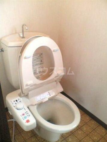 KOU 201号室のトイレ