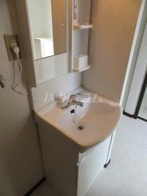 アプラムラピュタ 102号室の洗面所