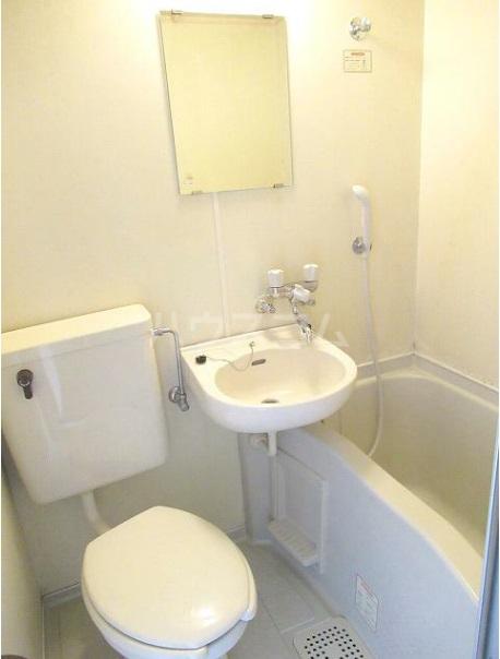 サンハイツフジ 201号室の風呂