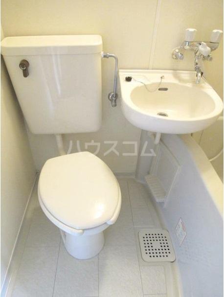 サンハイツフジ 201号室のトイレ