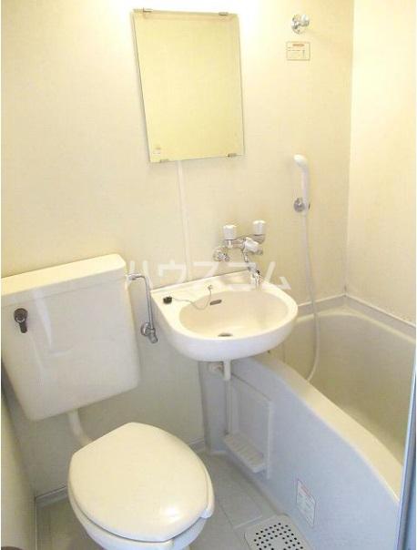 サンハイツフジ 201号室の洗面所
