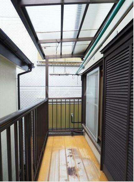小金井市中町4丁目貸家のバルコニー
