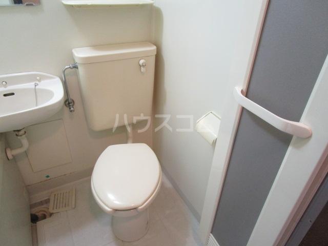 コーポ小町 101号室のトイレ