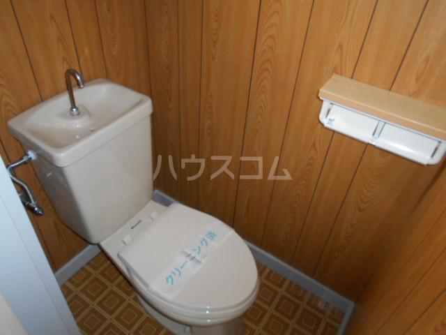 めぐみコーポ 201号室のトイレ