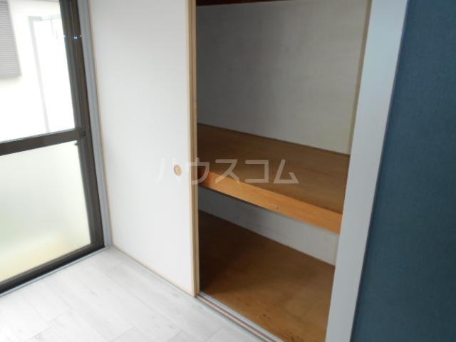 めぐみコーポ 201号室の収納