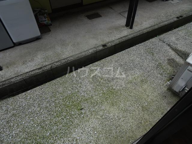クレール1 114号室のバルコニー